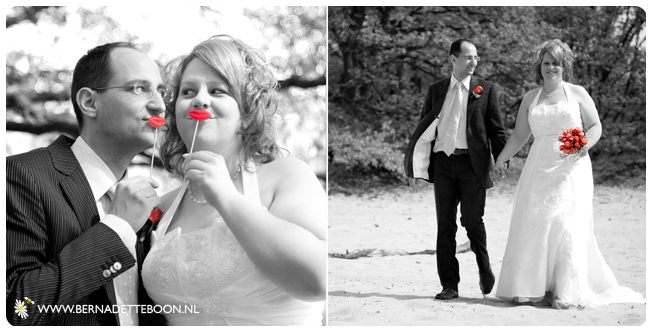 Bruiloft Arja en Louis