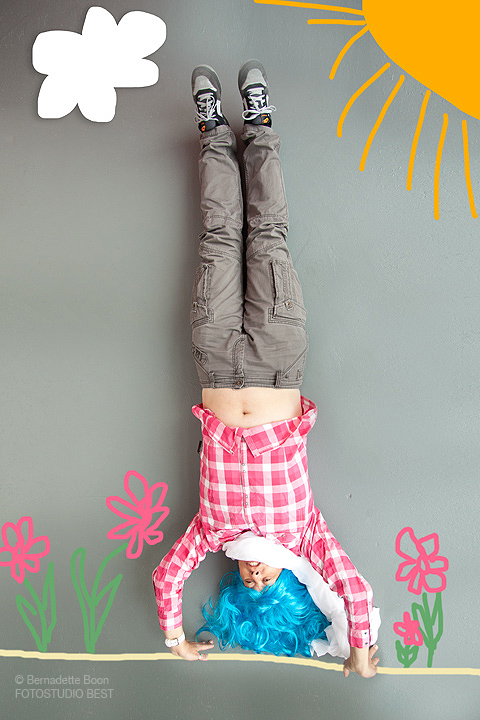 Upside down, creatieve fotografie in Best.
